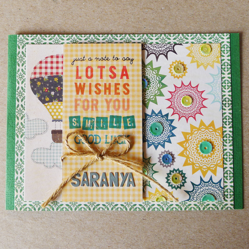 Birthday And Farewell Cards – December