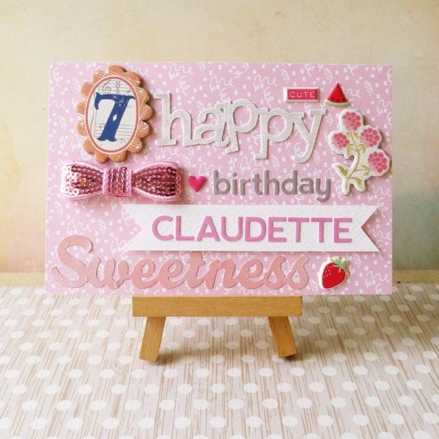 Claudette 2014